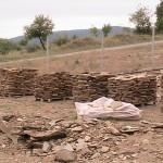 вадење на шкрилец, Ранковце (природни материјали)